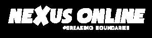 NEXUS ONLINE LOGO 2020_White Hashtag_Hz
